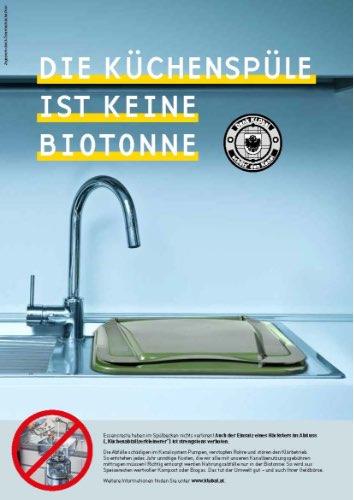 GSA Flugblatt Küchenspüle
